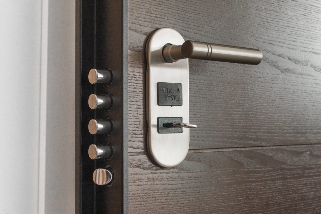 security door. Home protection tips